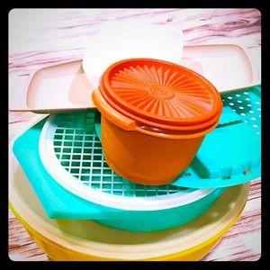 Vintage Assorted Tupperware Lot ❤️